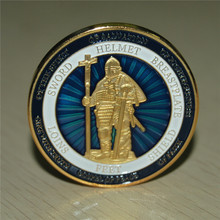 NEW Female Put On The Full Armor Of God Defend The Faith Challenge Coin Souvenir Gifts free shipping