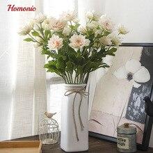 Best Quality Lotus Flower 10pcs Decorative Wedding Artificial Flower  Arrangement Home Decoration Accessories Potted Plant P25 Part 51