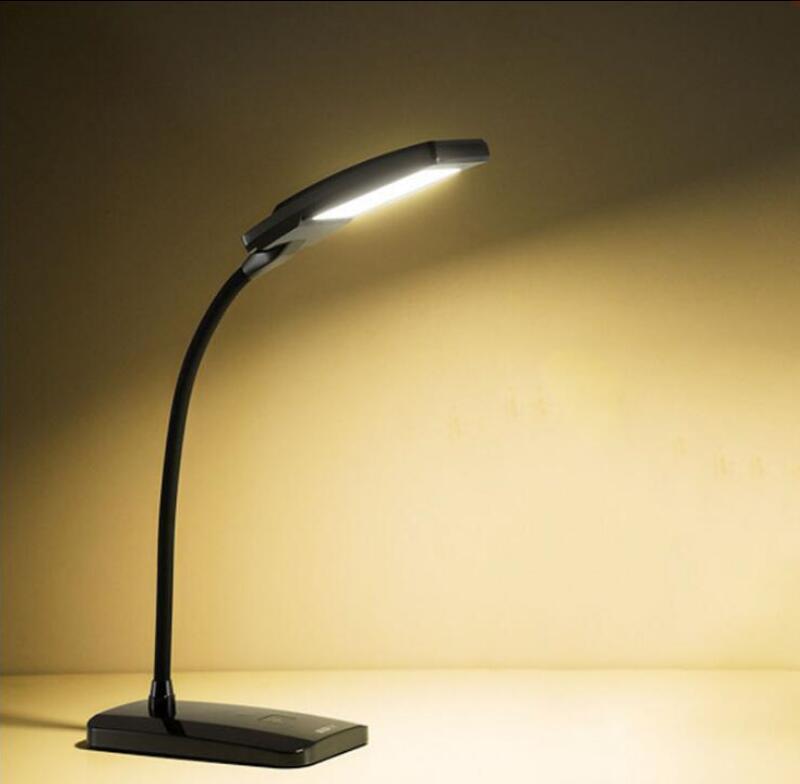 Bureau de lecture Lampe de Bureau Led Lampe de Bureau Flexible Led Table Lampe Lecture Led Lumière Luminosité Dimmable Haute Qualité Étudiant utiliser
