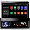 Top  7'' Single Din Quad Core Android 5.1 Car DVD GPS Radio For Universal With Multimedia 16GB Flash Mirror Link
