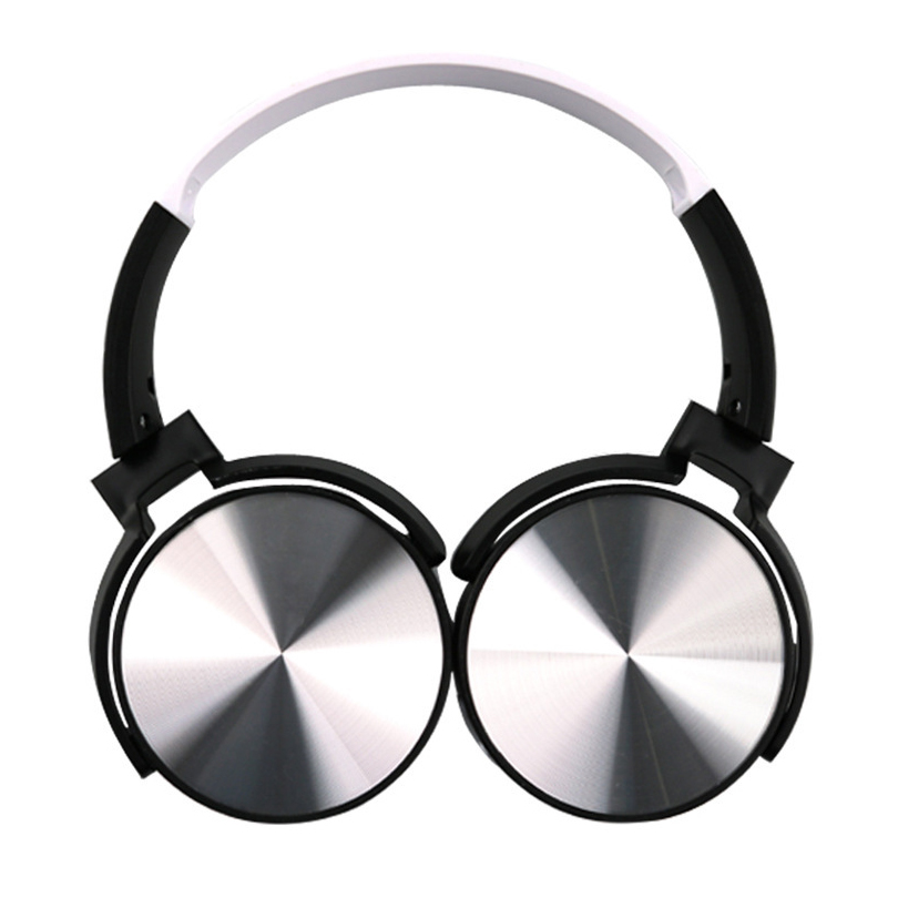 Headphone bluetooth 4.2 stereo Micro USB port long standby time metallic Hi-Fi cordless headphones earphone for Huawei Xiaomi