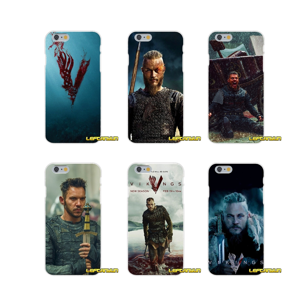 For Samsung Galaxy S3 S4 S5 MINI S6 S7 edge S8 S9 Plus Note 2 3 4 5 8 Accessories Phone Cases Covers Vikings series 4