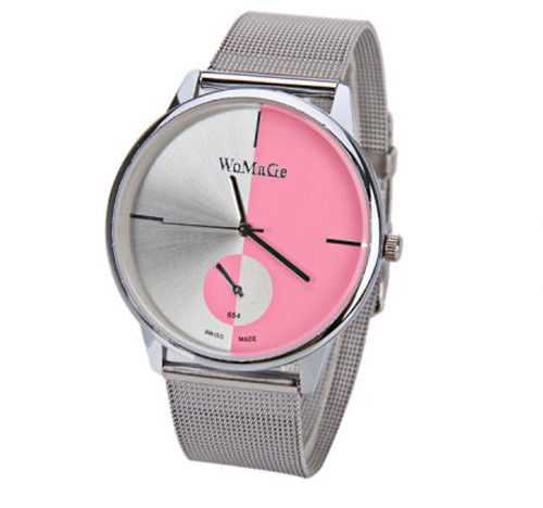 New Arrive Fashion Design Stainless Steel Watch Women Luxury Dress Wrist Watches Lady Casual Quartz Watch Hours Clock For Ladies