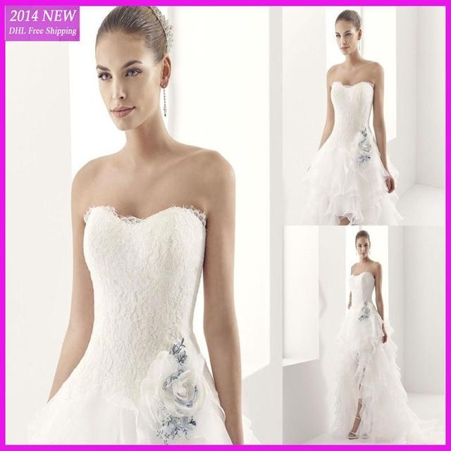 Mermaid Wedding Dress with Front Slit