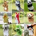 Cão Da Vaca Sapo Coelho Panda de pelúcia Mão Puppets Boneca Brinquedos Brinquedo Pai-Filho Interativo Anima Plush Macio Fantoche Marionnette