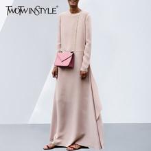 розовые высоким платья большие
