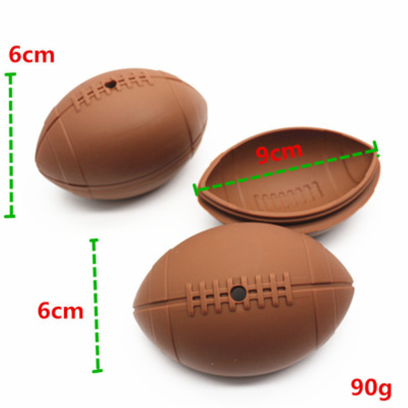 3D Rugby Football Shape Mold Silicone Ice Tray Ice Cube Maker DIY Chocolate Mold Bar Kitchen Party Whiskey Wine Ice Cream Tool in Ice Cream Makers from Home Garden