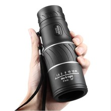 Best price High Definition pocket Monocular 16×52 Focus Optic Lens handheld Day Night Vision Travel Telescope spotting Scope Binoculars