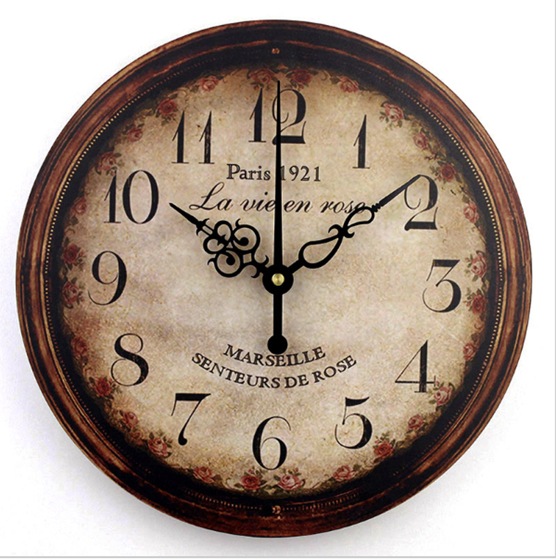 Large Wall Clock In Foyer : Vintage large decorative wall clock home decor fashion