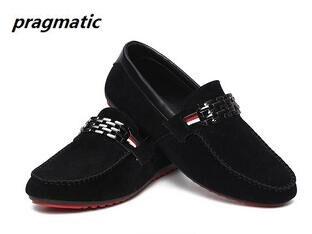 korean fashion Men s casual shoes peas mens shoes men slip on loafers low cut Business