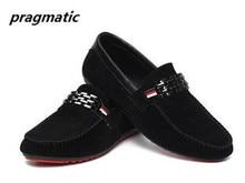 korean fashion Men's casual shoes peas mens shoes men slip on loafers low-cut Business Shoes Breathable Tide Male Shoes sale