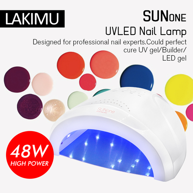 Lakimu 48w Uv Led Lamps Drying Gel Nail Polish For Nails Dryer Gel