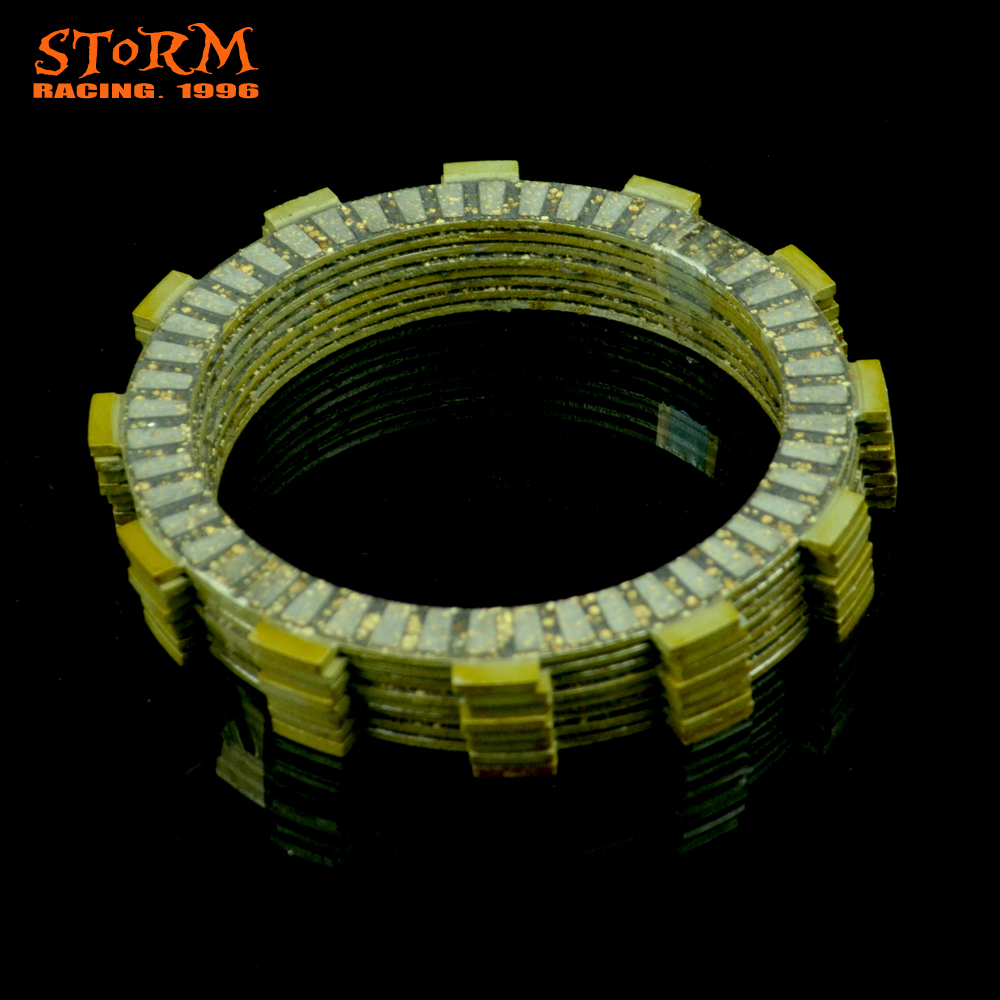 Motorcycle Clutch Friction Plates Set For HONDA CRF250R CRF 250R 250 R CRF250X 250X X 04 05 06 07 08 09 10 11 12 13 14 15