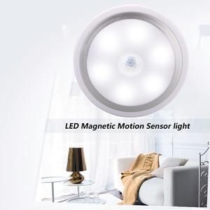 Image 3 - Coquimbo Magnet PIR Motion Activated Night Light Motion sensing Battery Powered LED Stick Anywhere Light Sensor Wardrobe Light