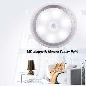 Image 3 - Coquimbo için Mıknatıs PIR Hareket Aktif Gece Lambası Hareket algılama pilli led Sopa her Yerde Işık Sensörü gardırop ışığı