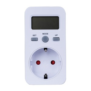 EU Plug LCD Energy Power Meter Plug-in Digital wattmeter Electricity Electric swr meter Usage Monitoring Socket(China)