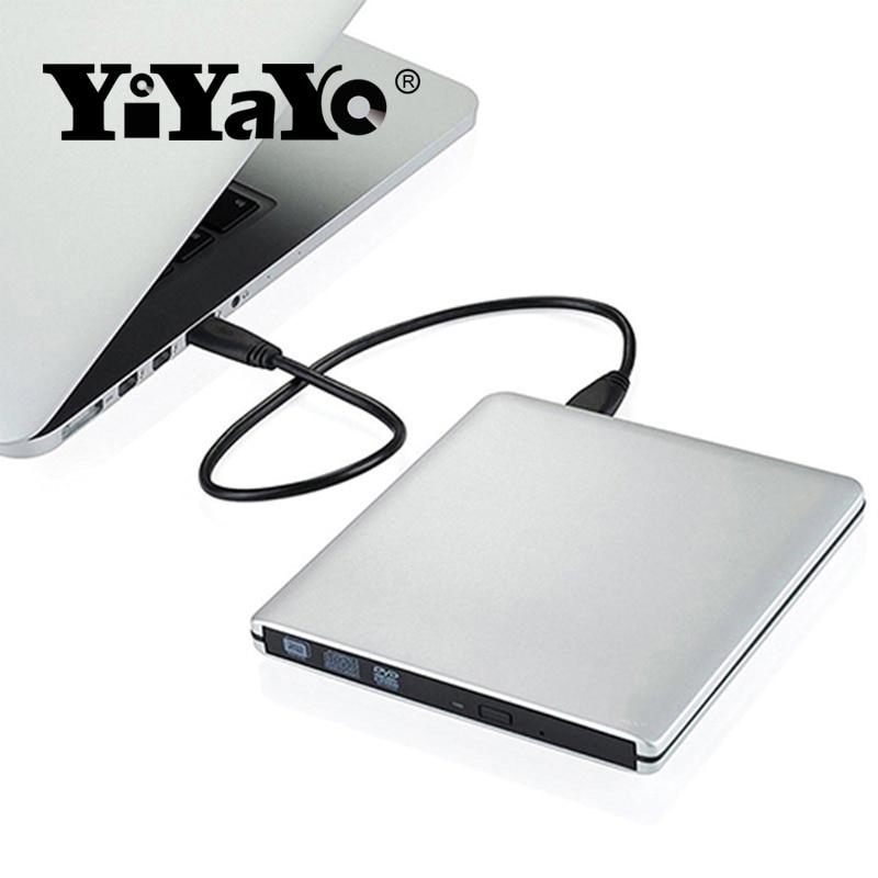 YiYaYo Externe dvd-station USB 3.0 CD / RW-brander ROM-speler - Computer componenten - Foto 4