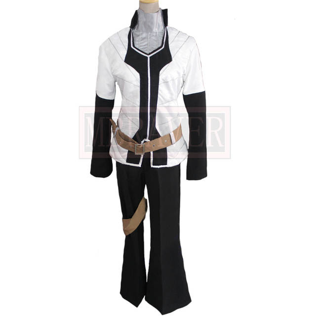 US $70 55 15% OFF|Elsword Raven Sword Taker Blade Master Halloween Uniform  Outfit Cosplay Costume Custom Made Free Shipping-in Game Costumes from