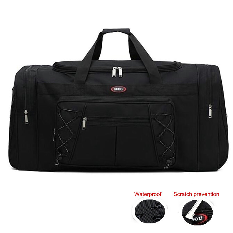 65LTraining Gym Bags Men Large Capacity Sport Bag For Women Fitness Waterproof Travel Duffel Bag Outdoor Carry On Garment Bag