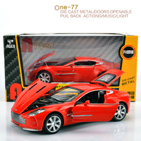 High Simulation 1 32 Scale Pull Back Light Sound Aston Martin Electronic Car Toy For Kids