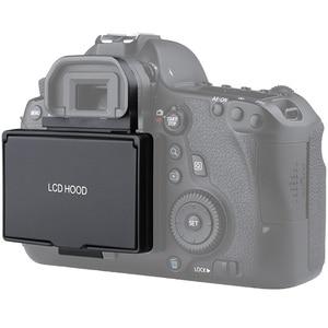 Image 5 - غطاء شاشة LCD مع غطاء مظلل منبثق لكاميرا كانون 5D Mark III IV 5DS 5DSR 6D 7D Mark II 1DX 1DX II 5D4