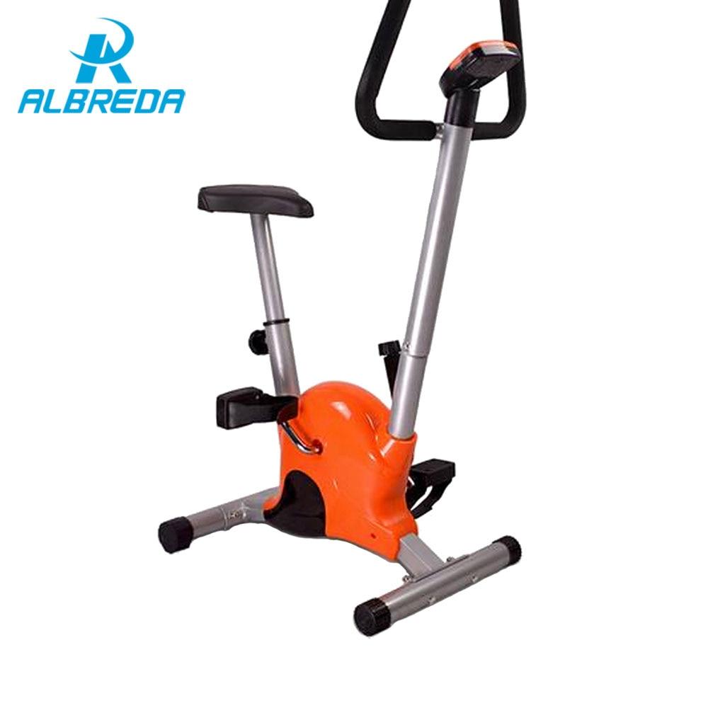 ALBREDA New Family leisure fitness bike / ultra-quiet home fitness equipment / indoor sports exercise bike / home exercise bike цена