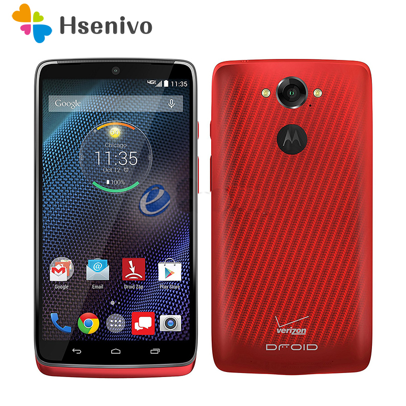 100 Original Motorola MOTO DROID Turbo XT1254 32GB 64GB 5 2 Inch 20MP 4G LTE 3GB