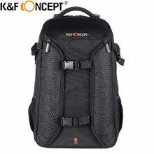 K & F CONCEPT Professional Travel камера рюкзак большой ёмкость для 2 s + несколько объектив с держателем штатива дождевик