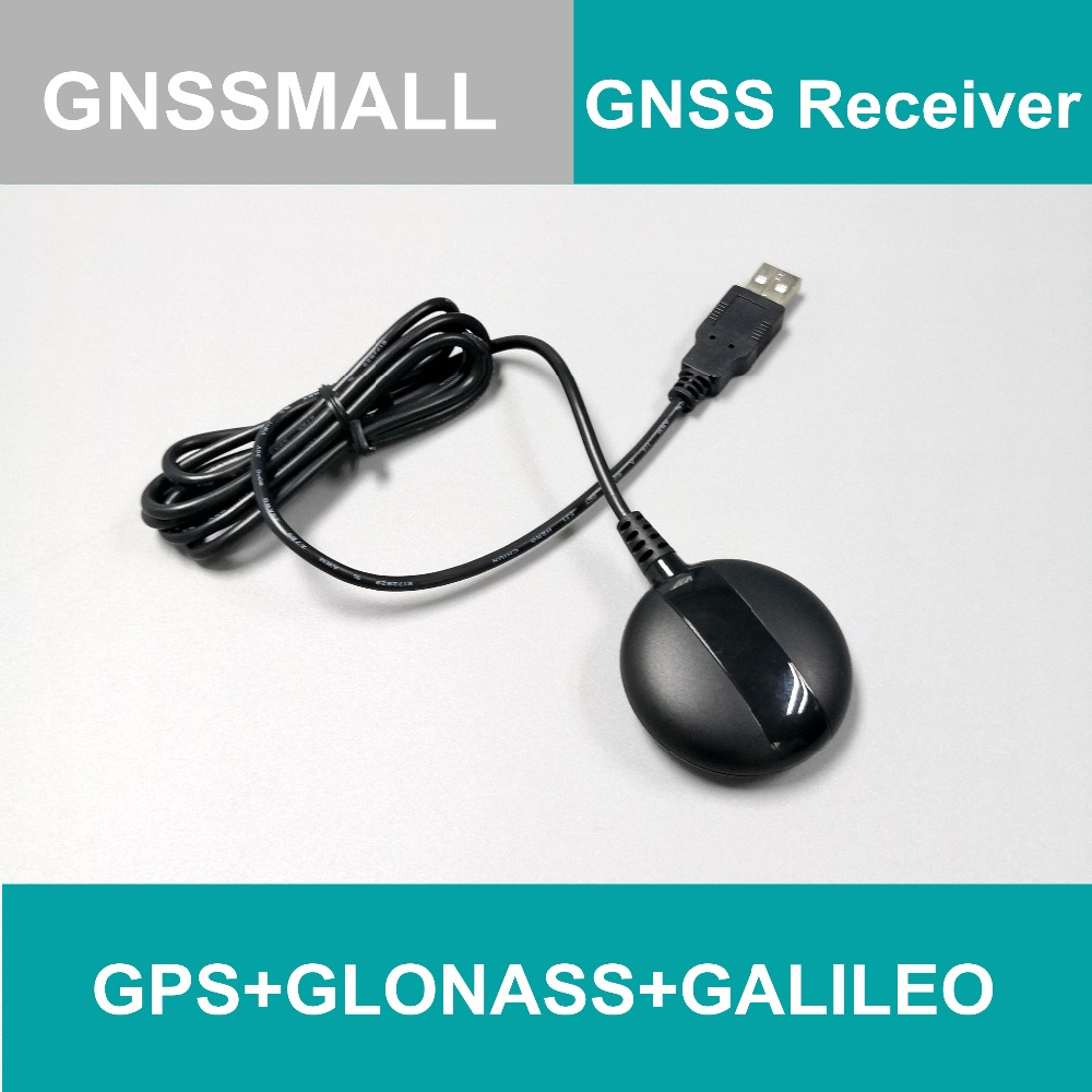 TOPGNSS USB GPS Receiver GLONASS GALILEO M8030 Dual GNSS Receiver Module Antenna Aptop PC,GN800G,better Than BU-353S4 G-mouse