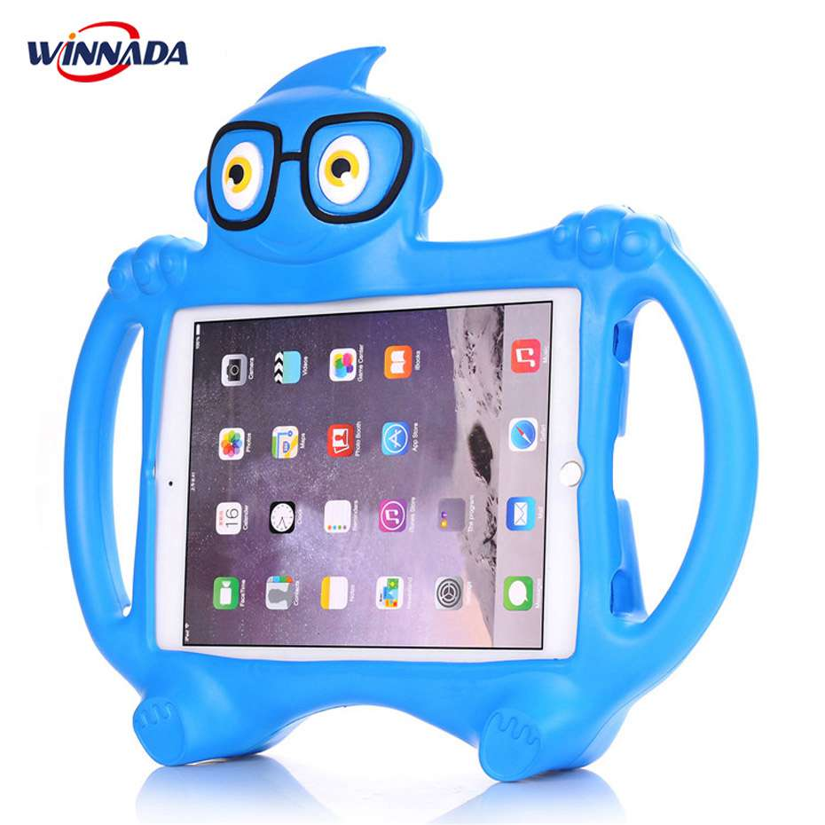 For ipad 2017 case kids Cartoon 3D Protective Cover For ipad air funda / For ipad air 2 cover capa for ipad pro 9.7 case стоимость