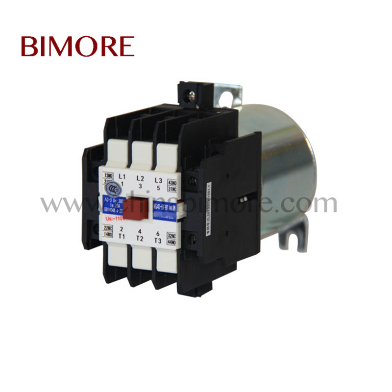 MG4D-BF Elevator Contactor for Permanent Magnetic Synchronous Traction Machine AC110V
