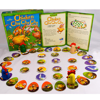 2 6 Player Puzzle Game Chicken Cha ! Board Game Funny Party Games