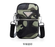 New waterproof Oxford cloth phone bag Shoulder Bag Sports outdoor function Korean version of the coin purse