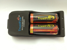 TrustFire TR-006 Multifunctional Battery Charger+2PCS 26650 Protected 5000mAh 3.7V Lithium Rechargeable Batteries