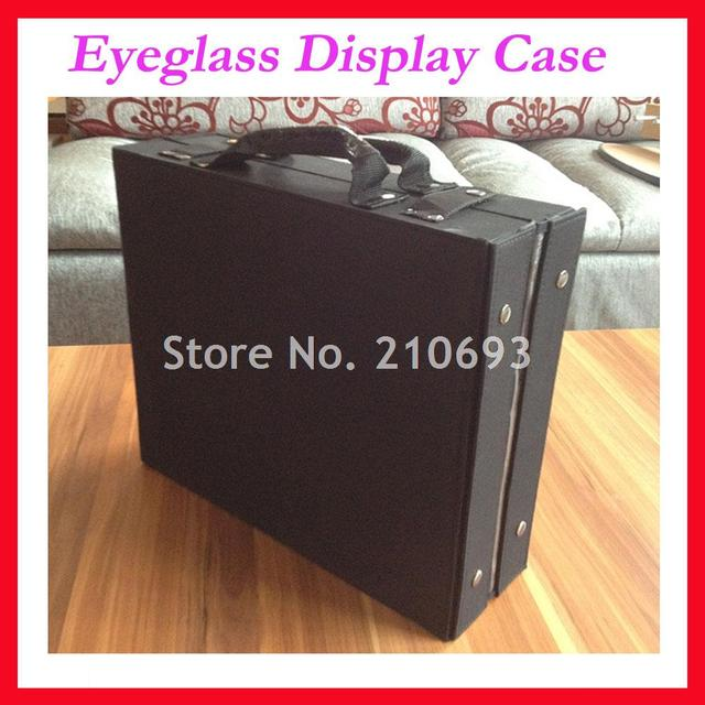 cf065deb98f9 Retail 24 glasses eyewear eyeglasses sunglasses display case box suitcase  Hold 24pcs DC24