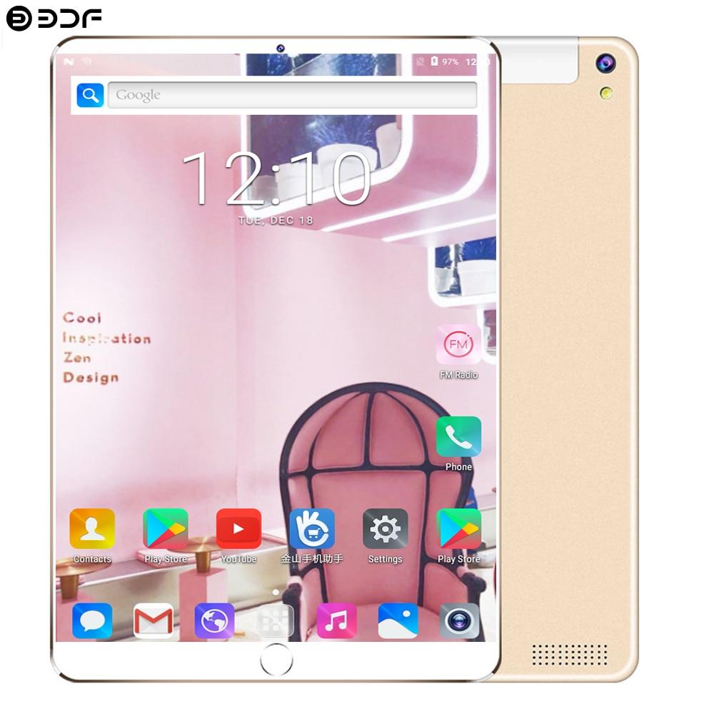2019 Google 10,1 дюймов планшетный ПК Android 7,0 планшет 4G LTE Восьмиядерный 4 Гб ОЗУ 64 Гб ПЗУ WiFi 1920*1200 ips детский подарок планшет 10 10,1