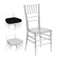 Clear Resin Tiffany Banquet Chiavari Chair
