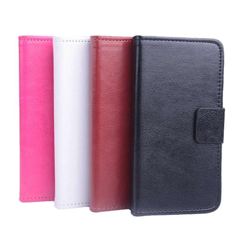 High Quality Colorful Flip Cover Leather Phone Case With Stand Card Slot For Meizu M3 Mini