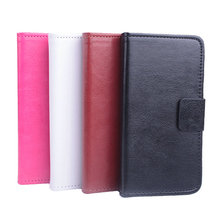 High Quality Colorful Flip Cover Leather Phone Case With Stand Card Slot For Meizu M3 Mini 5.5 Inch MT6750 Octa Core Smartphone
