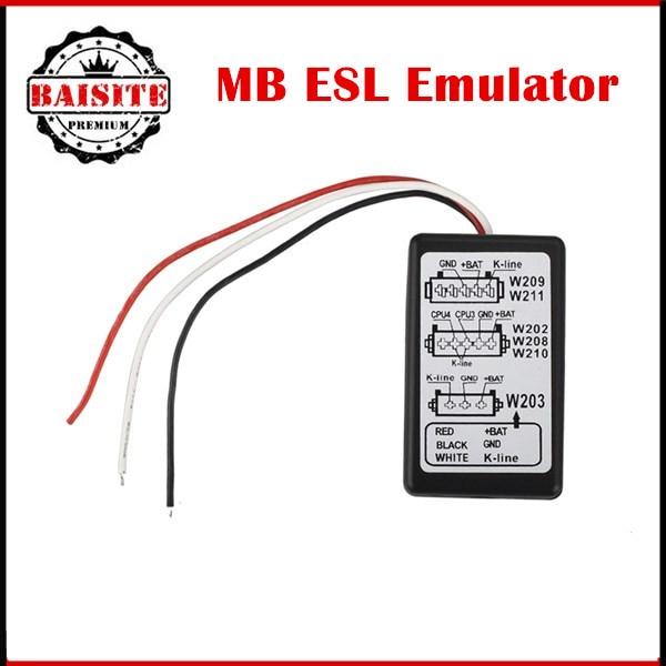Prix pour OBD2 Code pour mercedes esl émulateur pour W202, W208, W210, W203, W211, W639 MB ESL Émulateur LIVRAISON GRATUITE post
