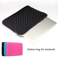 13 Laptop Bag For Macbook Air 13 3 Inch Portable Notebook Liner Sleeve Fashion Diamond Style