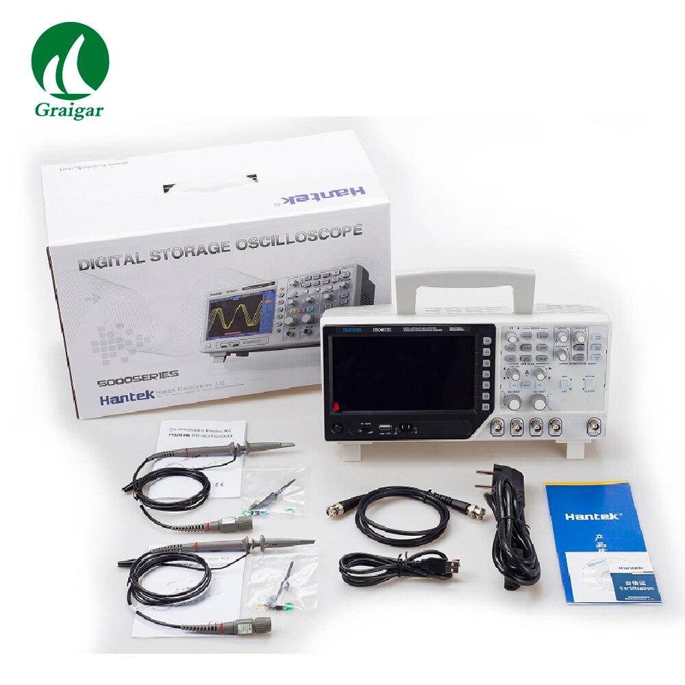 DSO4072C oscilloscope numérique USB 100 MHz 2 Canaux écran lcd De Poche Osciloscopio Portatil Analyseur Logique
