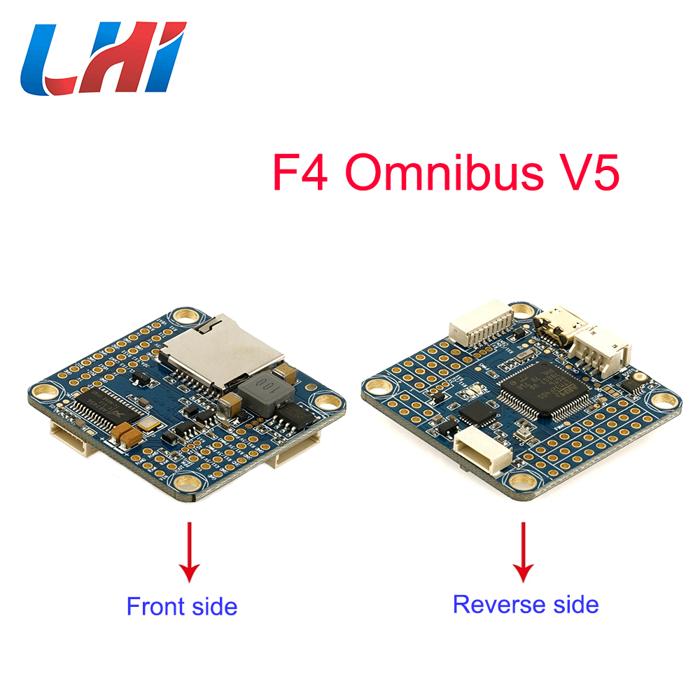 цена на LHI OMNIBUS F4 V5 Flight Control FVP DIY drone with Quadcopter rc part Airbot Authentic new generation AIO controller for copter