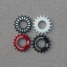 Fixed Gear Bike cog  Freewheel Cogs Hub Locking single Speed  17T Fixed Wheel Track Flywheel Steel Track 2017 new arrival japan izumi track single speed chian fix gear speed chian