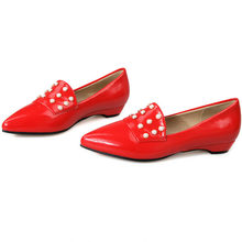 Chic Shoes Slip On Shallow Oxfords Women Patent Leather Evening Pumps Low Heel Wedding Mary Janes Shoes Casual Shoes Lady Office 2017 mary janes women pumps fashion patent leather slip on casual women shoes spring autumn flower toe part square heel med heel