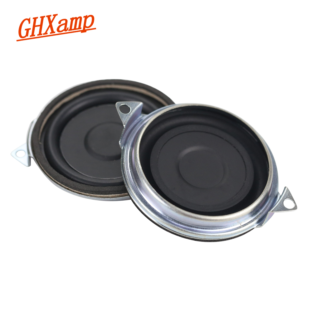 GHXAMP 2 Inch Passive Radiator Speaker Vibration Diaphragm Rubber Bass Radiator For Low Frequency Speaker DIY 2PCS