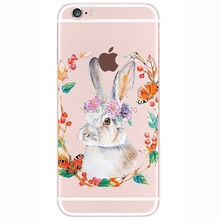Cute Rabbit Phone Case iPhone 5 5s SE 6 6s Plus