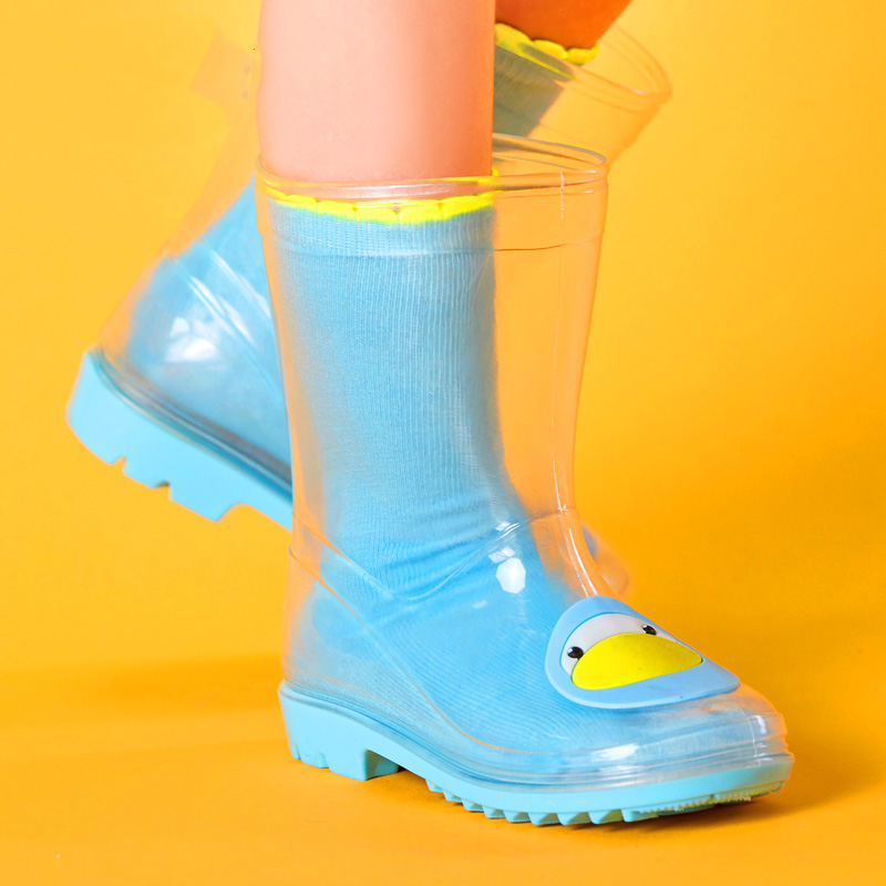 Popular Clear Rubber Boots-Buy Cheap Clear Rubber Boots lots from ...