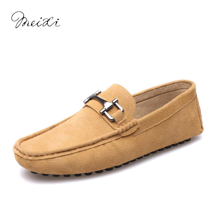 meixi brand causal shoes men loafers genuine leather moccasins men driving shoes high quality flats for man summer causal shoes men loafers genuine leather moccasins men driving shoes high quality flats for man