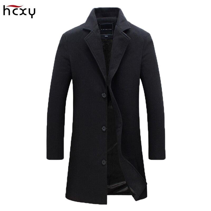 2017new осенне-зимняя куртка, пальто для Для мужчин Повседневное модные длинные Тренчи для женщин пальто для Для мужчин Цвета тонкий красивый К... ...